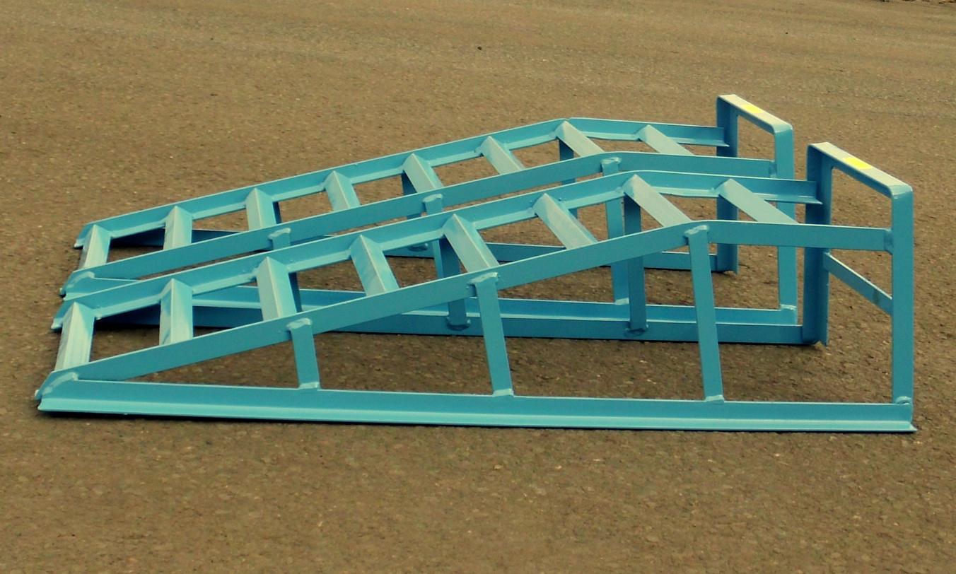 1 paar pkw auffahrrampen stahl 2000kg bis 195er reifen ebay. Black Bedroom Furniture Sets. Home Design Ideas